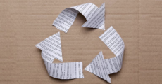 What printers can do to recycle waste
