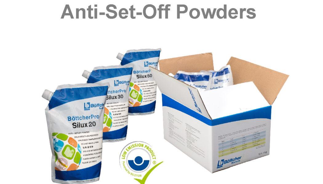 Bột phun Offset của Đức (Spray Powders for Sheetfed Offset printing)